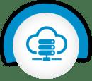 雲服務器圖標